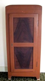 Antique Early 1900s Solid Wood Closet in Ramstein, Germany