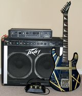 Electric Guitar w hard case, Amp, Flanger in Clarksville, Tennessee