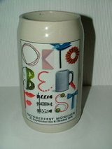 October Fest Beer Stein 1991 in Ramstein, Germany