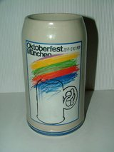 October Fest Stein 1986 in Ramstein, Germany