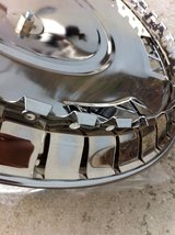 4 METAL CHROMED WHEEL HUBCAPS in Fort Rucker, Alabama