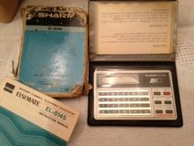 Sharp Pocket Calculators & Pocket Notepad in Oswego, Illinois