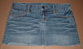 Women's Size 8 American Eagle Outfitters Denim Jean Mini Skirt in Yorkville, Illinois
